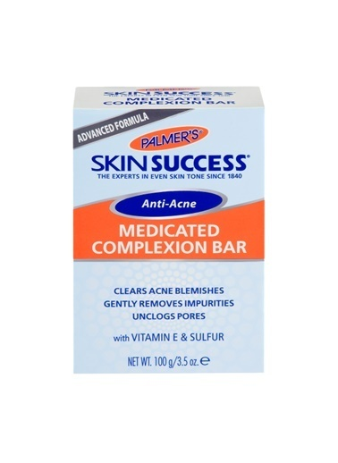 Palmers Anti Acne Medicated Complexion Bar 100G Renksiz